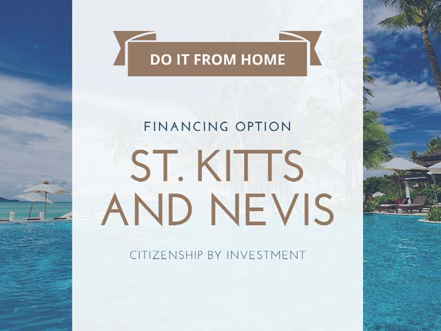 St Kitts passport from home